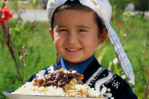 Pilav, Uzbek food