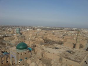 Khiva from the top