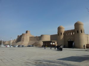 Khiva outside city walls
