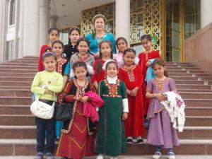 School class in Mary, Turkmenistan