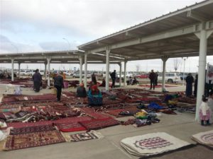 Ashgabat bazar, Turkmenistan