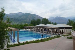 Chorvak modern resort, Uzbekistan