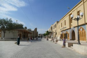 Bukhara streets early