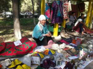 Market in Bishkek, Kyrgyzstan