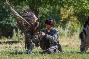 Eaglehunter in Kazakhstan, Berkutchi
