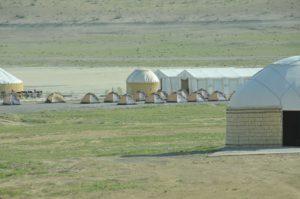 Darwaza yurt camp, Turkmenistan