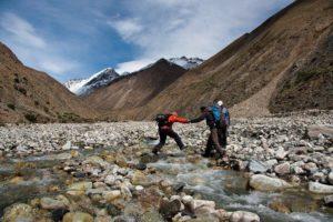 Tien Shan Mountains in Kyrgyzstan