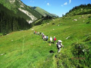 Trekken in Kirgizië