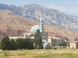 Mosque n Naryn, Kyrgyzstan
