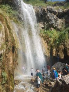 Waterfalls nearby Arslanbob, Kyrgyzstan
