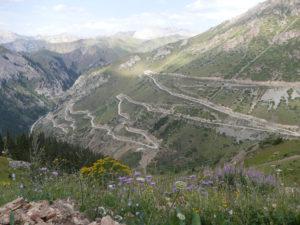 Between Naryn and Jalalabad, Kyrgyzstan
