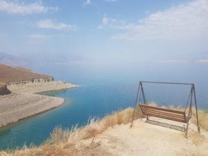 Toktogul Lake in Kyrgyzstan