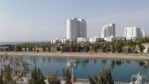 Awaza resort in Turkmenistan