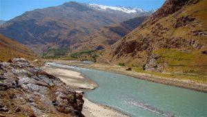 Pamir Highway in Tajikistan