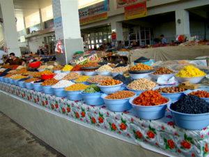 Markt in Dushanbe, Tadjikistan